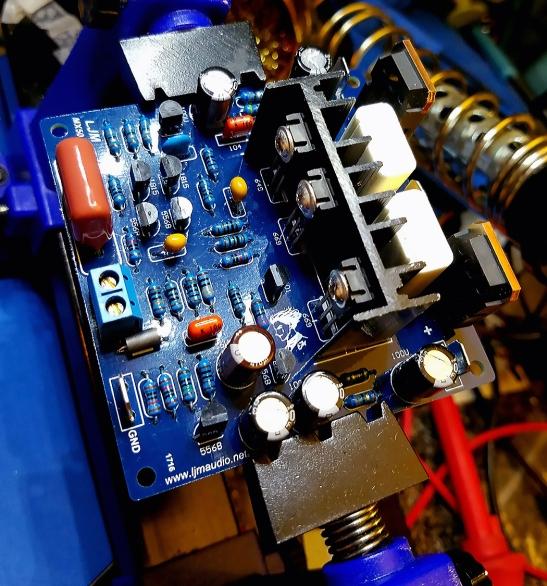 MX50 SE 100W Power Amp 95Percent Done