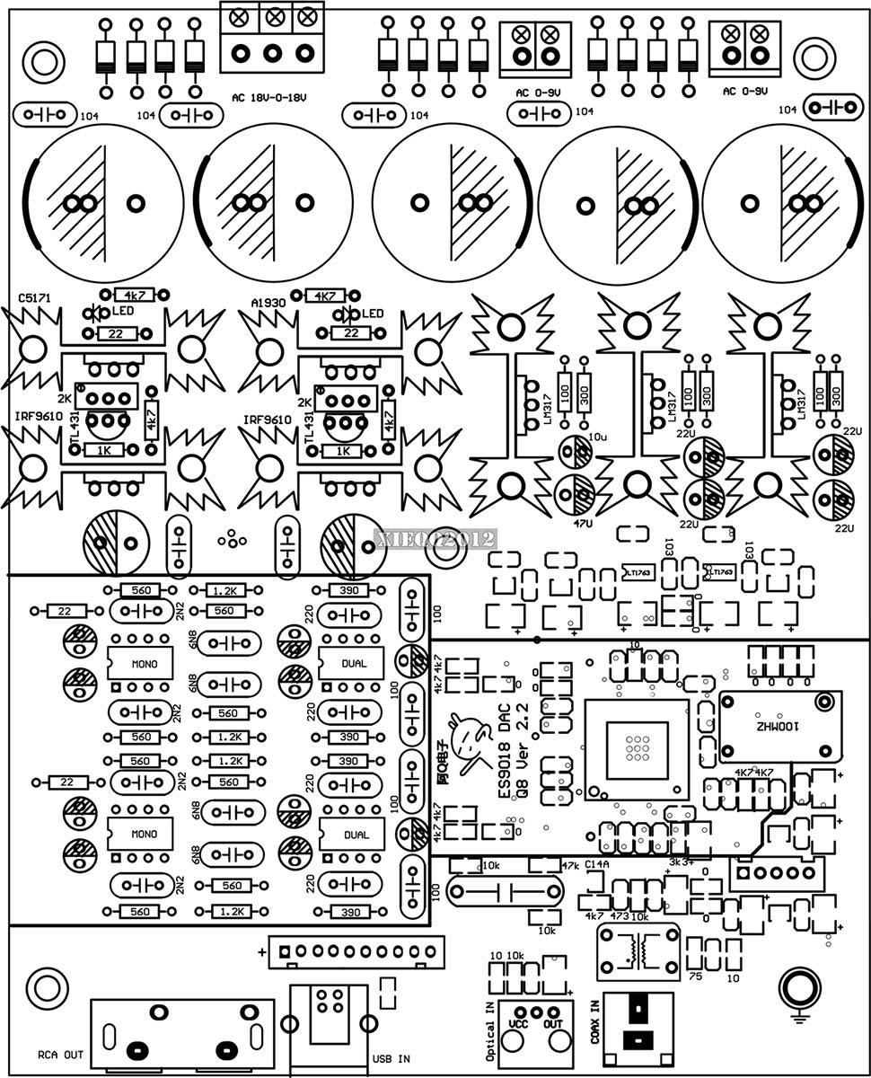 es9028 dac schematics