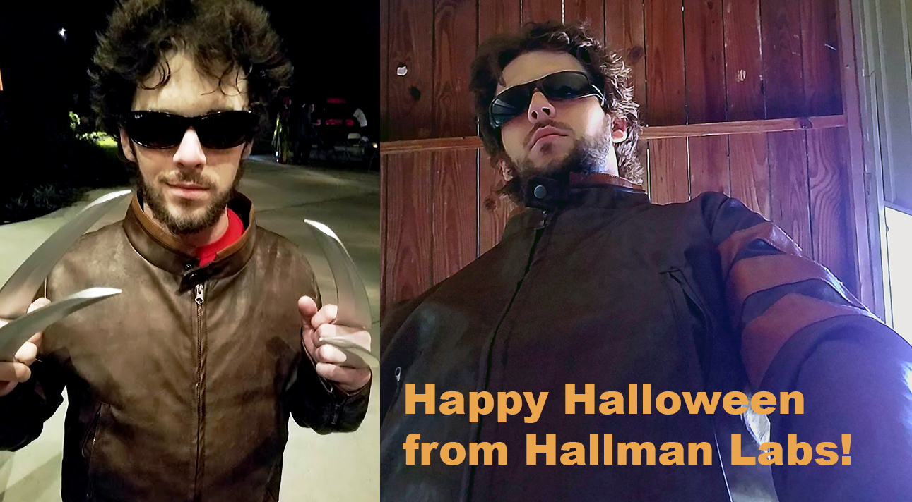 Wolverine Hallman Labs Halloween