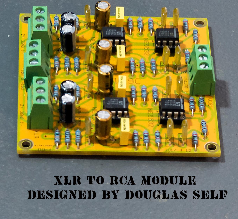 XLR to USB Module