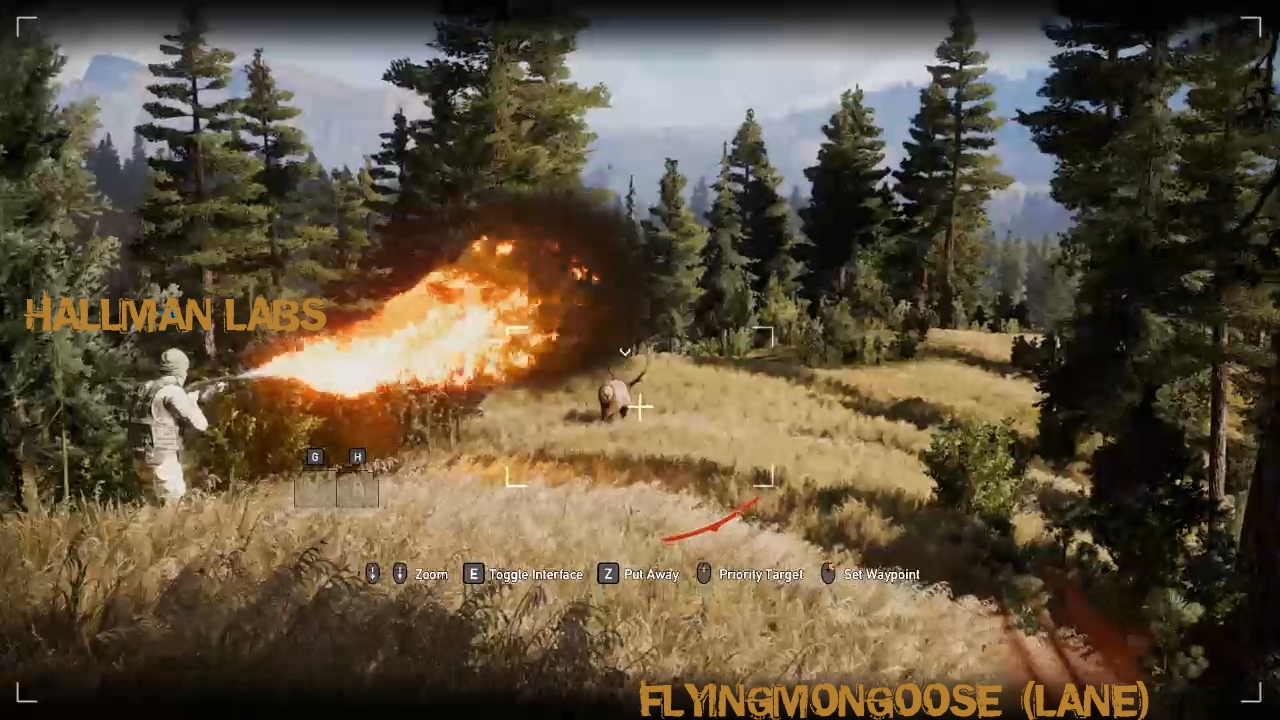 Flamethrower Hunting