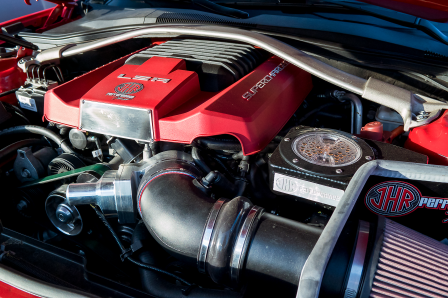 Supercharged ZL1 Motor